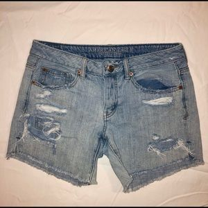 American Eagle Outfitters Cut-off Denim Shorts
